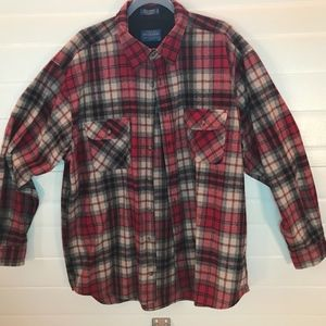 Men's Size XXL Pendleton Wool  Button Down Shirt